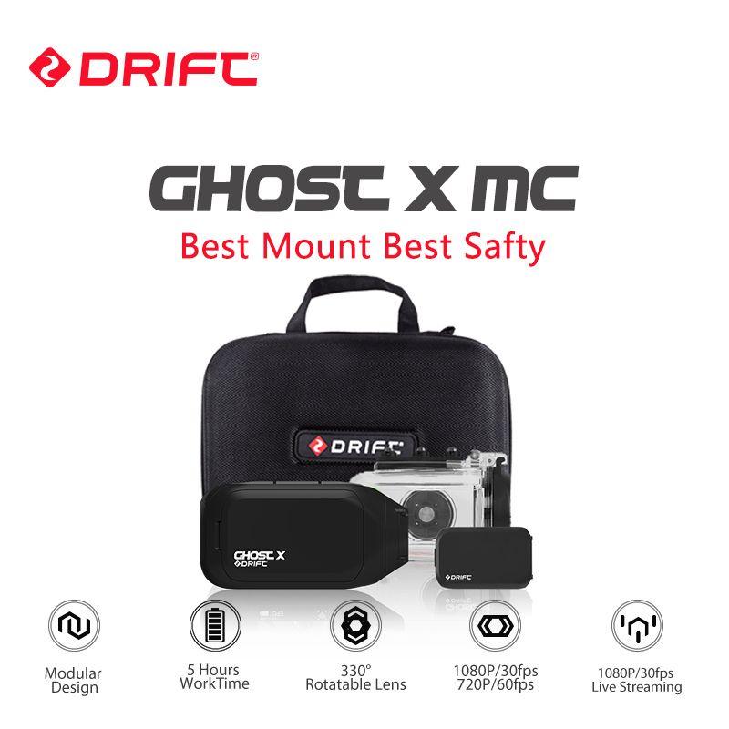 Drift Ghost X MC Action Kamera Ambarella 1080 p Motorrad Bike Sport Helm Mini Cam ARM 12MP CMOS Dreh Objektiv wiFi