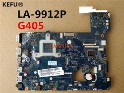 Kefu Kualitas Tinggi Papan Utama untuk Lenovo G405 Motherboard Laptop Vawga/GB LA-9912P Pengujian Kapal Cepat