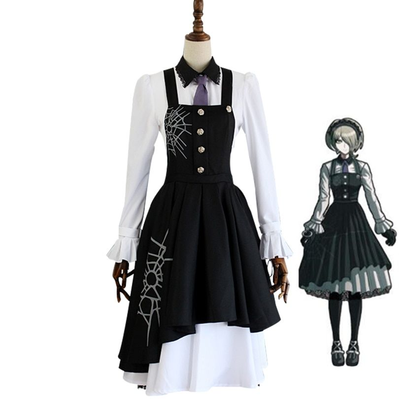 Nouveau Danganronpa V3 Tojo Kirumi Cosplay Costume jeu japonais Anime uniforme Costume tenue vêtements