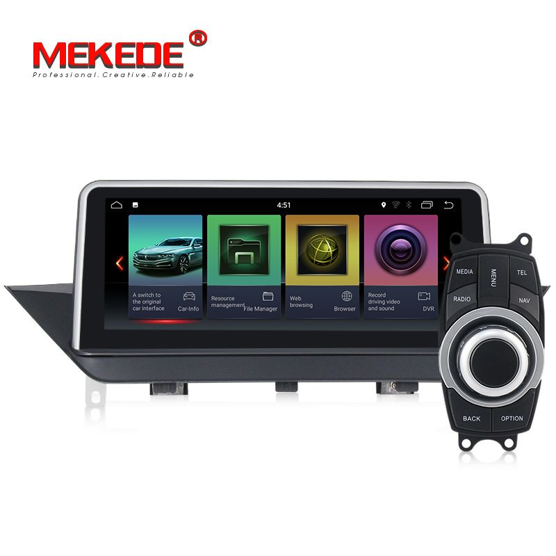 Android 7.1 Car DVD multimedia Player for BMW X1 E84 2009-2015 Without original screen/Supply with iDrive audio gps stereo auto