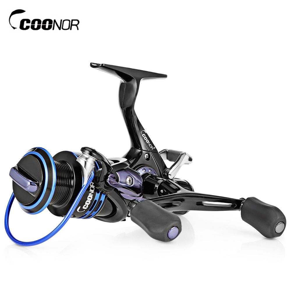 COONOR J12 9 + 1BB Metal Spool Fishing Reel with T-shape Handle