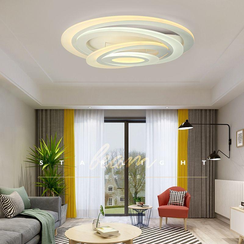 New Ultrathin Ceiling Lights lamps for living room bedroom lustres de sala home Dec LED Chandelier ceiling Free delivery
