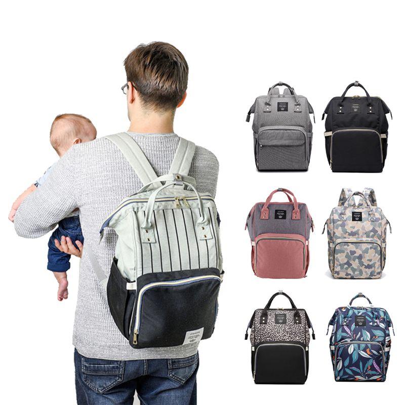 Fashion Mummy Maternity Nappy Bag Brand Large Capacity Baby Bag Travel Backpack Designer Nursing Bag for Baby Care!