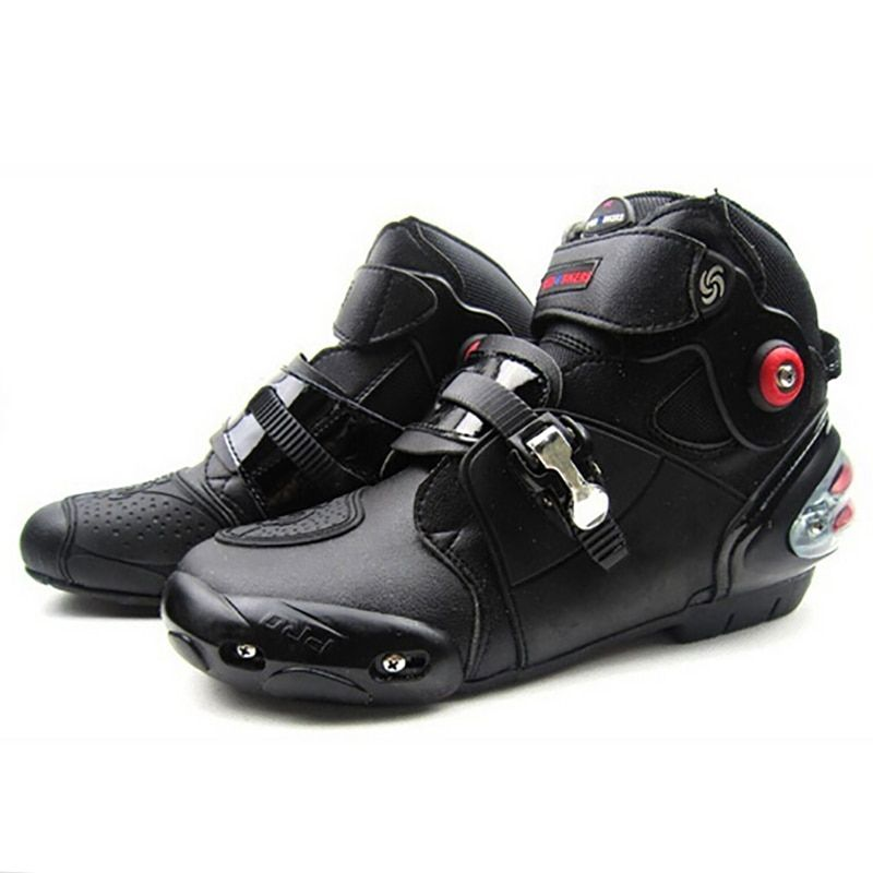 PRO-BIKER Motorbike Scooter Boots Protective Motocross Racing Off Road Boots SPEED Biker Protect Ankle Motorcycle Shoes A9003
