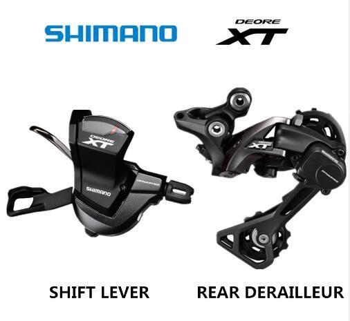 SHIMANO DEORE XT M8000 Groupset SL M8000 SCHALTHEBEL + RD M8000 SCHALTWERK MTB 11-GESCHWINDIGKEIT M8000 SL + RD GS SGS