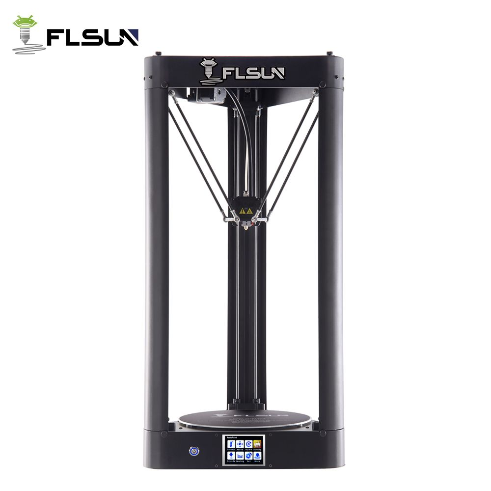 Flsun-QQ 3d Printer Metal Frame Large Size Pre-assembly Auto-level flsun 3d Printer Hot Bed Touch Screen Wifi SD Card Filament