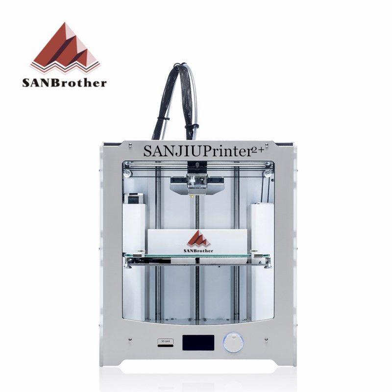 Neueste 2018 SANJIUPrinter2 + 3D Drucker DIY KIT Kompatibel mit Ultimaker 2 + UM2 + Enthalten alle Teile Top Qualität