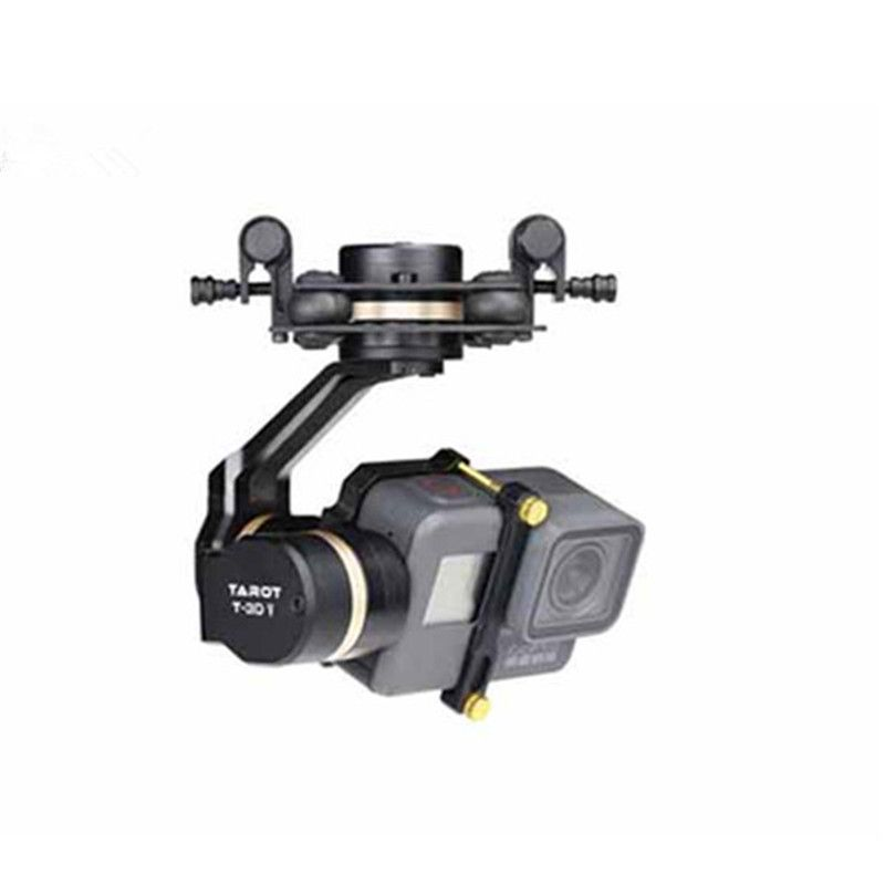 Tarot TL3T05 for Gopro 3DIV Metal 3-Axis Brushless Gimbal PTZ for Gopro Hero 5 for FPV System Action Sport Camera NWZ
