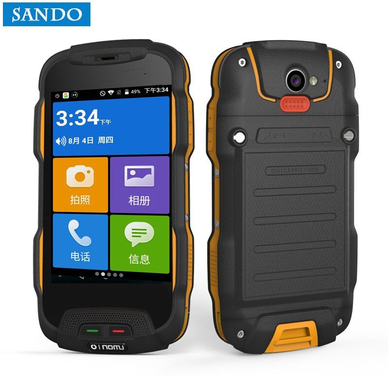 Oinom T9H V9-T V1 Android smartphone phone waterproof 4 inch 5200mAh 4g lte celuar mobile rugged shockproof IP68 dual sim IP67