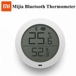 Xiaomi Mijia Bluetooth Hygrothermograph Temperature Humidity High Sensitive Sensor Digital LCD Screen with Mi Home APP Control