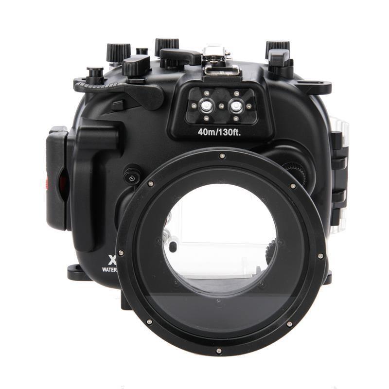 for Fujifilm Fuji X-T1 XT1 + 18-55 PP239 Meikon Waterproof Underwater Diving Dive Camera Housing Case