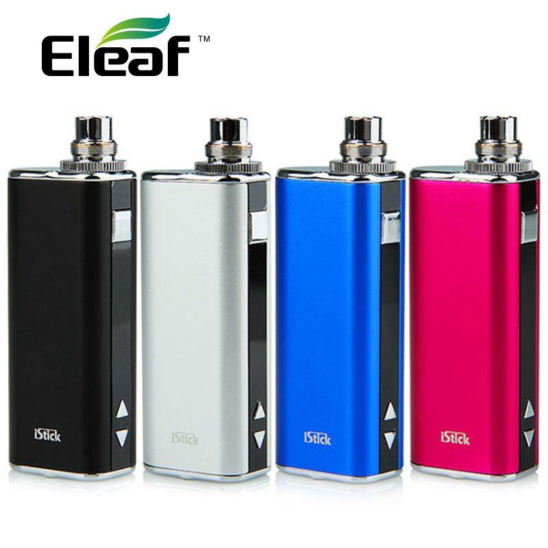 Abstand 20 Watt Eleaf iStick Batterie Mod e-zigarette 2200 mAh OLED Bildschirm iStick VV VW/20 Watt Mod kommen mit eGo Adapter