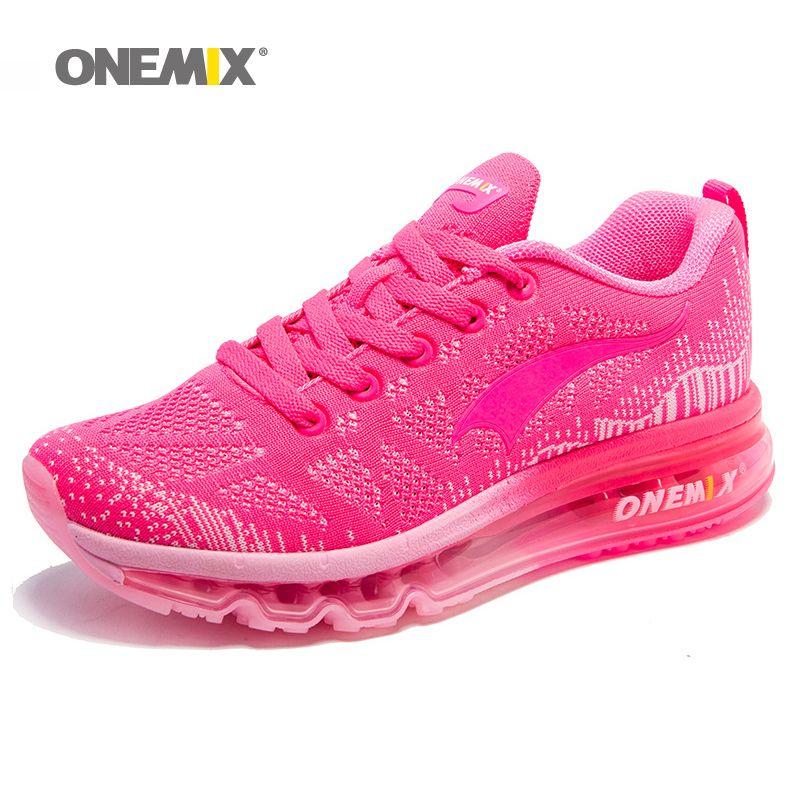 ONEMIX Femmes Chaussures de Course Armure Respirant Sport Chaussures Coussin D'air pour les Femmes 2017 Nouvelles Baskets de Sport En Plein Air Sport Chaussures