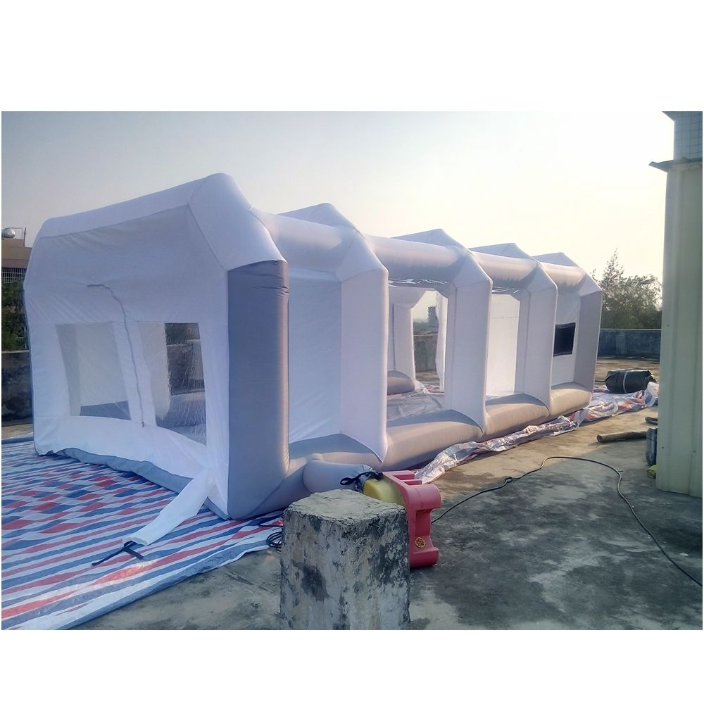 Inflatable Spray Paint Booth Cabin Paint Inflatable Room For Car Polish With Free Spray Paint Booth Fan
