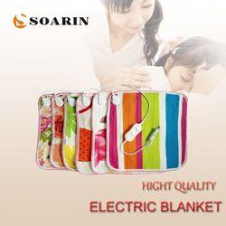 SOARIN электрическая грелка 45x45 электрическое одеяло плюшевые Подогреваемые коврики В для ног 220 В Manta Termica электрические грелки для стула