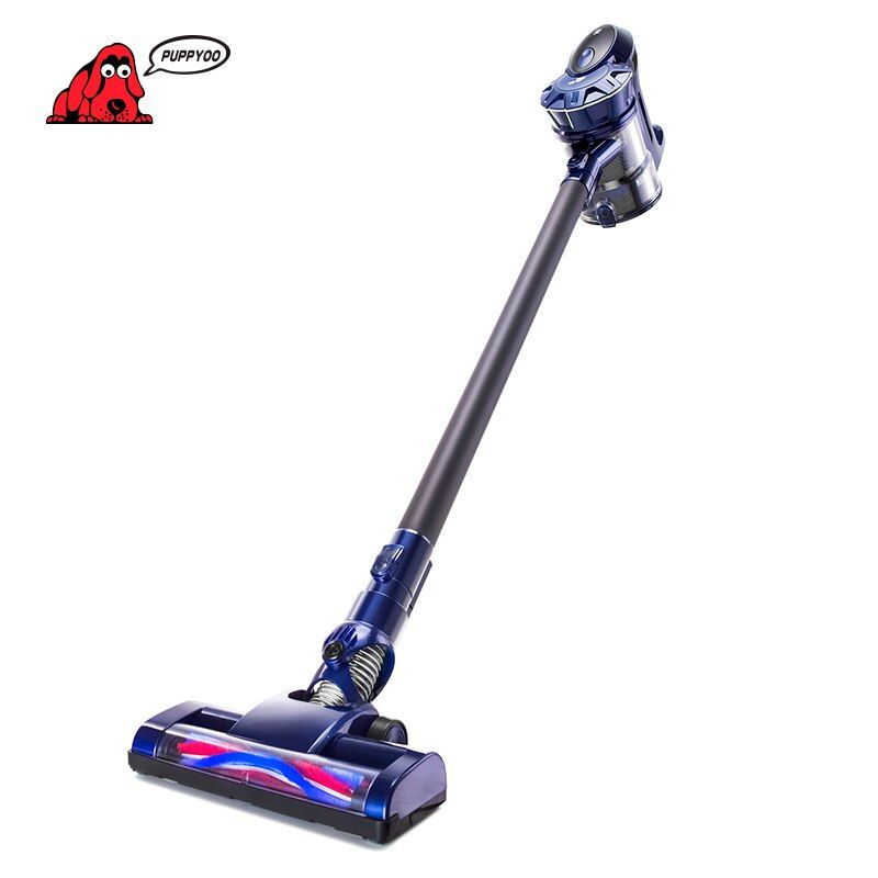 PUPPYOO Cordless Handheld Home Vacuum Cleaner Wireless Aspirator for Home Lithium Charging WP536