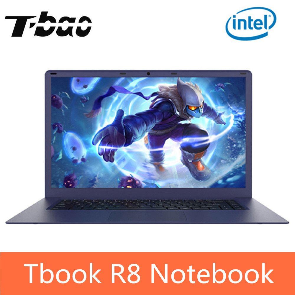 T-bao Tbook R8 Laptop Notebook PC 15.6 inch Windows 10 Intel Cherry Trail X5-Z8350 Quad Core 1.44GHz 4GB RAM 64GB eMMC Computer