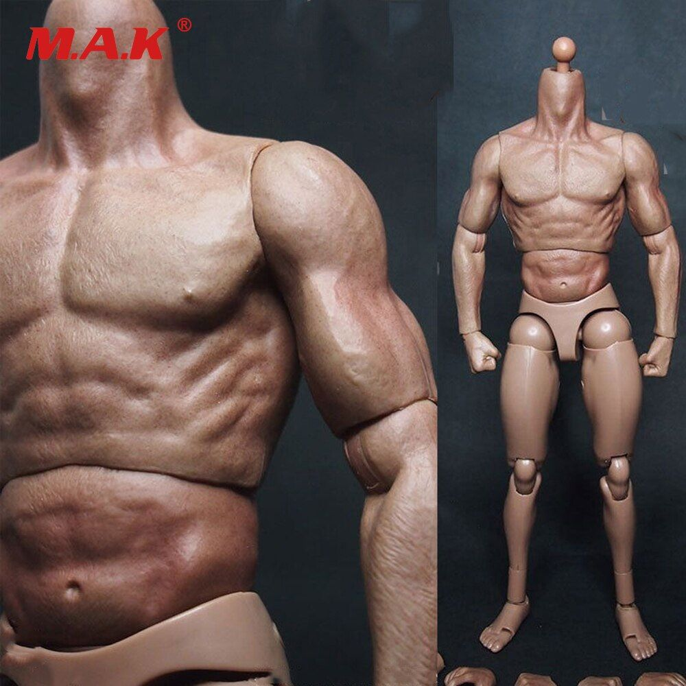 1/6 Scale man Male Body Figure Military Muscular Body Similar to TTM19 Wolverine Body 12 Soldiers Action Figure army Toys