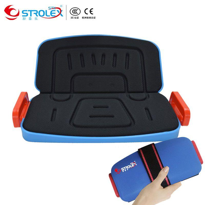 Strolex mifold мини складной Портативный Дети автомобилей Детская безопасность сиденье автомотоклуб для маленьких Детская безопасность сиденье ...