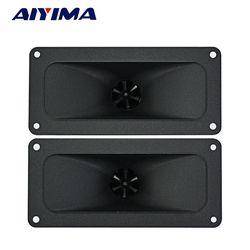 Aiyima 2PC Tweeters 146*67MM Piezoelectric Tweeter Loudspeaker 150W Ceramic Buzzer Treble Square Audio Speaker