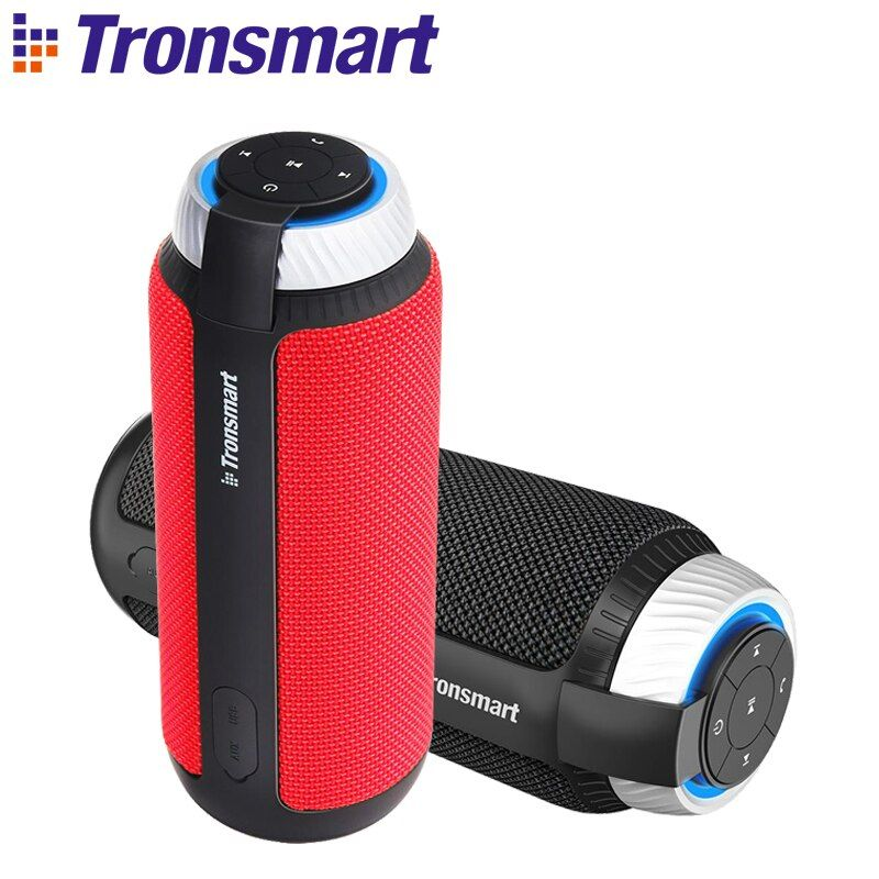 Tronsmart Element T6 Bluetooth 4.1 Portable Speaker Wireless Soundbar Audio Receiver Mini Speakers USB AUX for Music MP3 Player