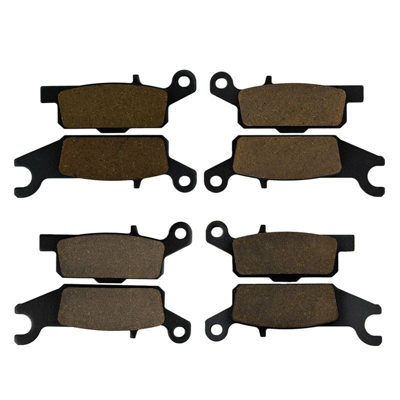 Motorcycle Front & Rear Brake Pads For YFM 550 Grizzly FGHY/FGPY YFM 700 FGPW/FGPX/FGPY/FGPZ Grizzly
