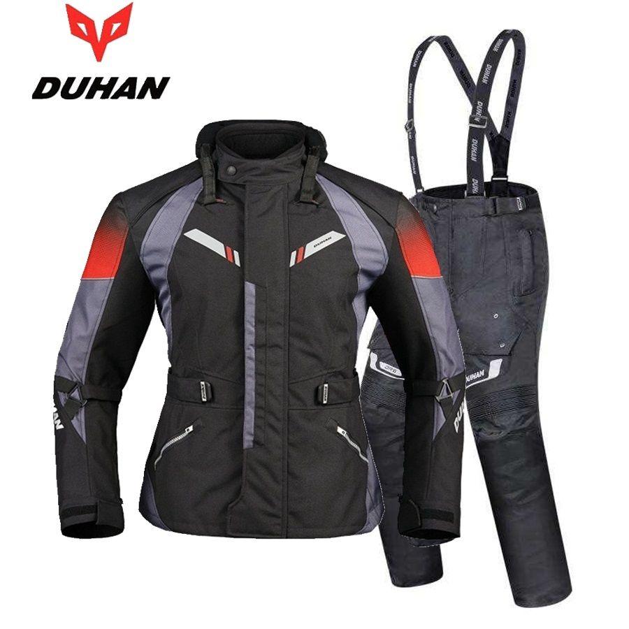 Freies verschiffen 1 set Herbst Winter Herren Moto Wasserdichte Warme Cordura Textil Jacke Motorrad Armours Motorrad Jacke und Hosen
