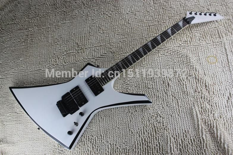 Free shipping 2014 new arrival Jackson KE2 Kelly binding custom electric guitar special-shaped Active pickups guitar
