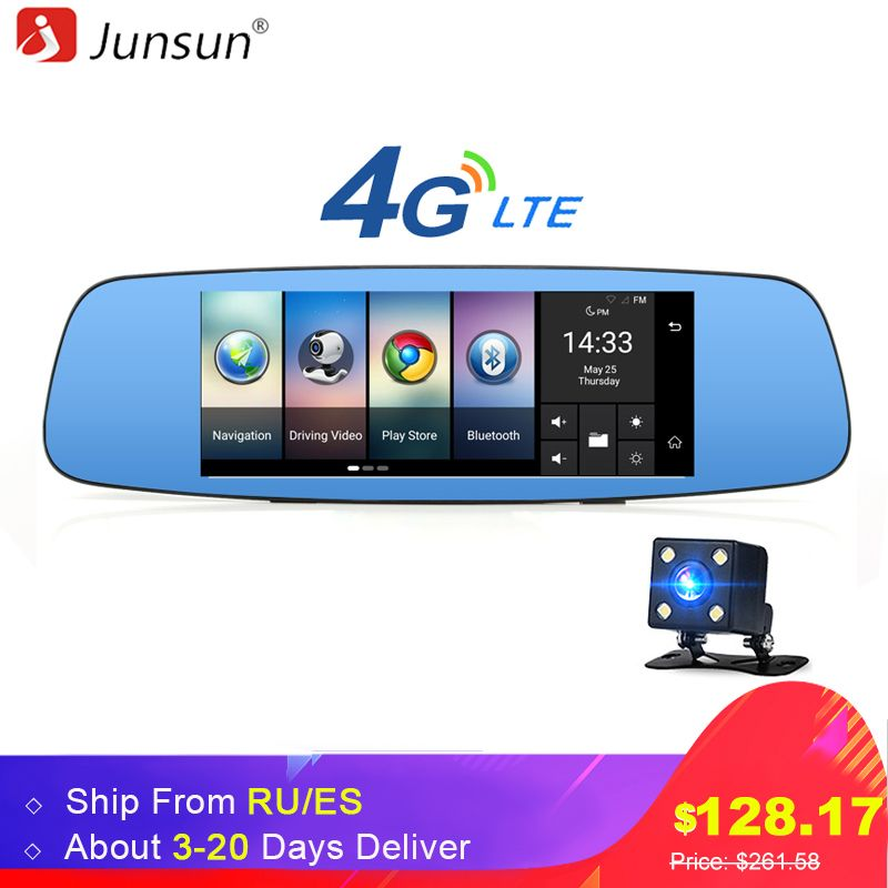 Junsun A800 4G/3G Car DVR Mirror 7