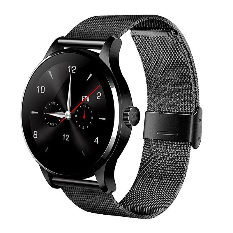 2016 Nouveau Moniteur de Fréquence Cardiaque K88H Bluetooth 4.0 Montre Smart Watch MTK2502C Siri et Geste Contrôle Smartwatch pour IOS Andriod Smartphone
