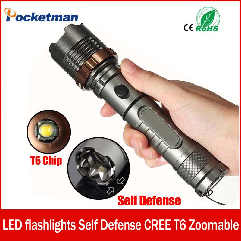 3800lm XM-L T6 5modes LED Tactical Flashlight Torch Waterproof Hunting Flash Light Lantern zaklamp taschenlampe torcia zk93