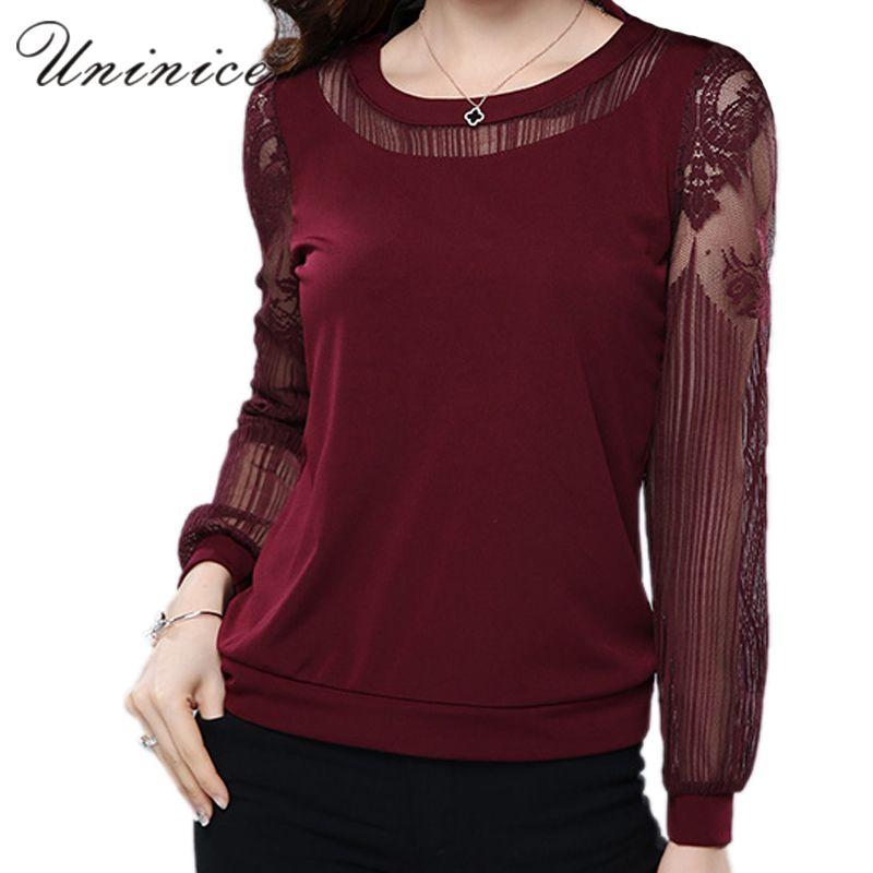 5XL 6XL кружевная блузка Рубашки для мальчиков для женщин; Большие размеры Повседневное шифон Блузки для малышек женщина Костюмы с длинным рук...