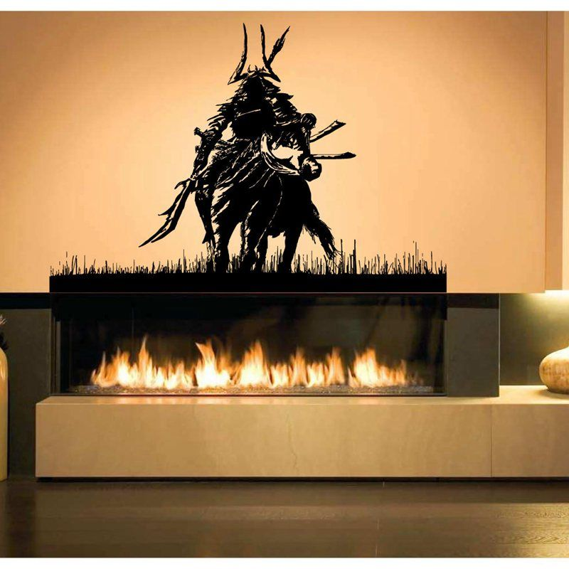 Kendo Sticker Samurai Decal Japan Ninja Poster Vinyl Art Wall Decals Pegatina Quadro Parede Decor Mural Kendo 4031 Sticker