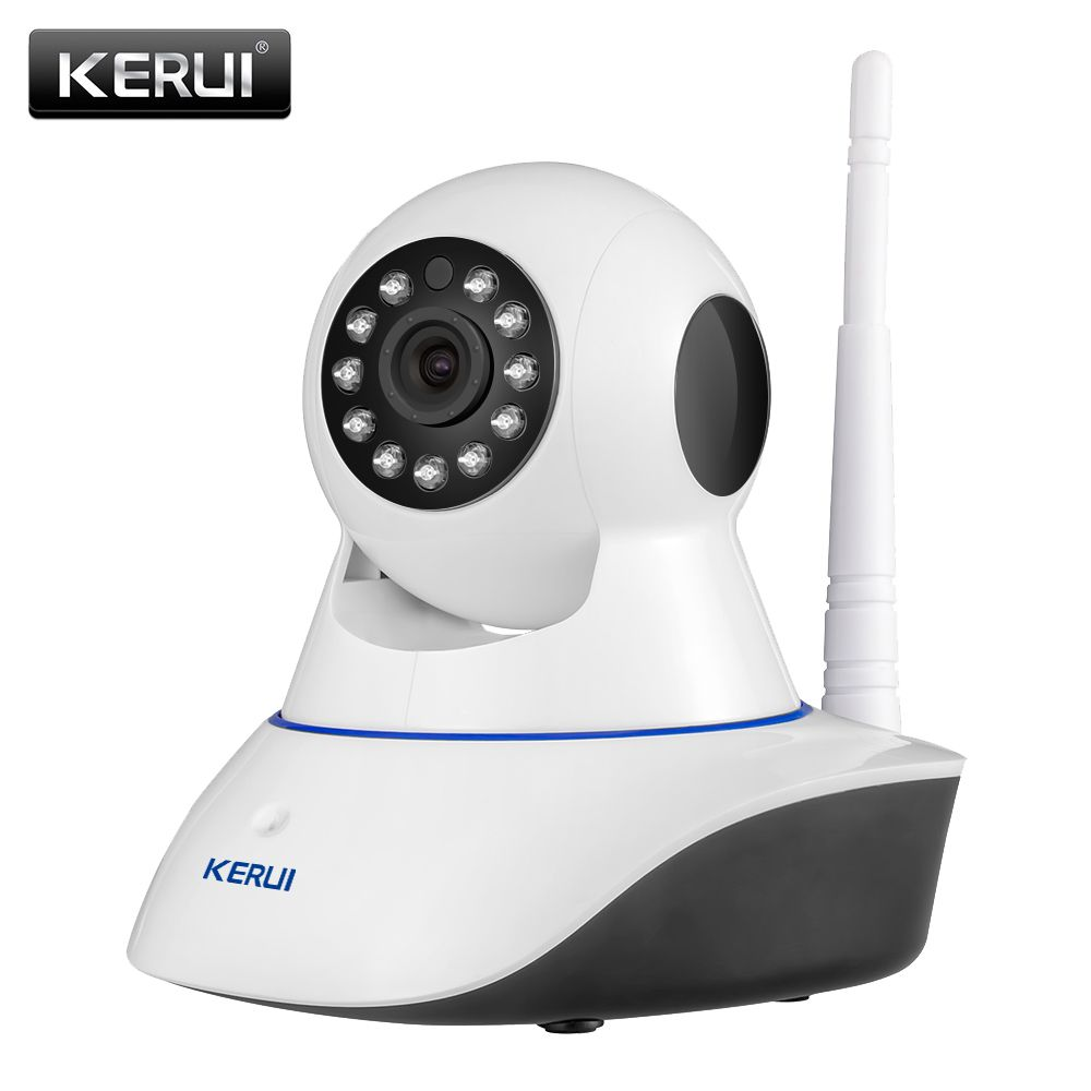 KERUI 720P HD Wifi Wireless Home Security IP Camera Security Network CCTV Surveillance Camera IR Night Vision Baby Monitor