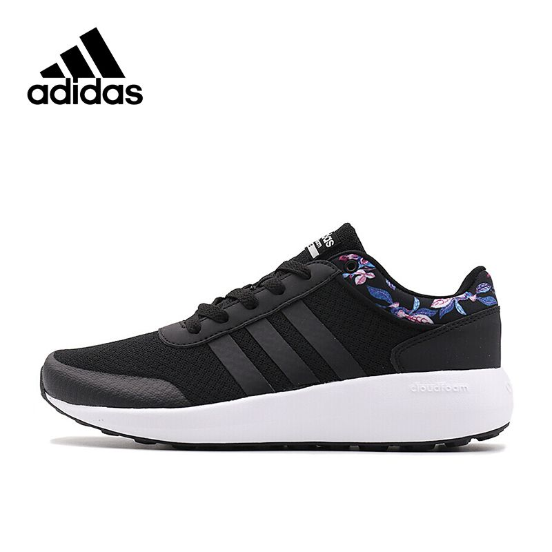 Authentic Adidas NEO Label CLOUDFOAM RACE Women's Skateboarding Shoes Sneakers Sports Outdoor Brand Designer AW3845