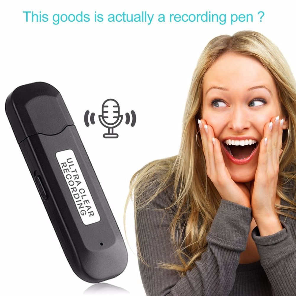 SK-828 Recording Pen 8G Memory Multifunctional Small Size Recorder Portable U-disk Fashionable New Version Audio Voice Recorder