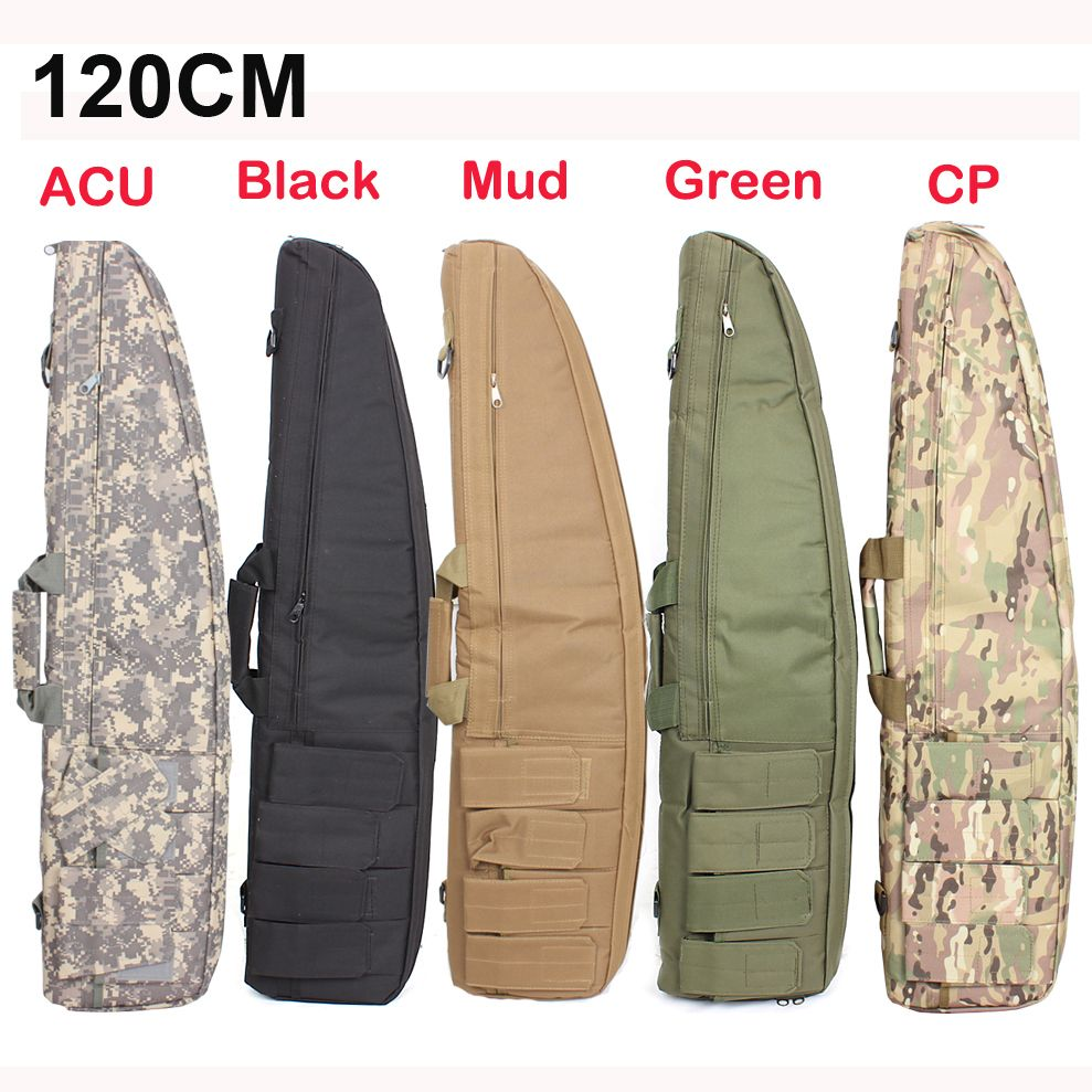 2018 100% NEW <font><b>Hunting</b></font> 120cm/ 98 cm Gun Rifle Bag Outdoor Tactical Carrying Bags Military Gun Case Shoulder Pouch For Shooting