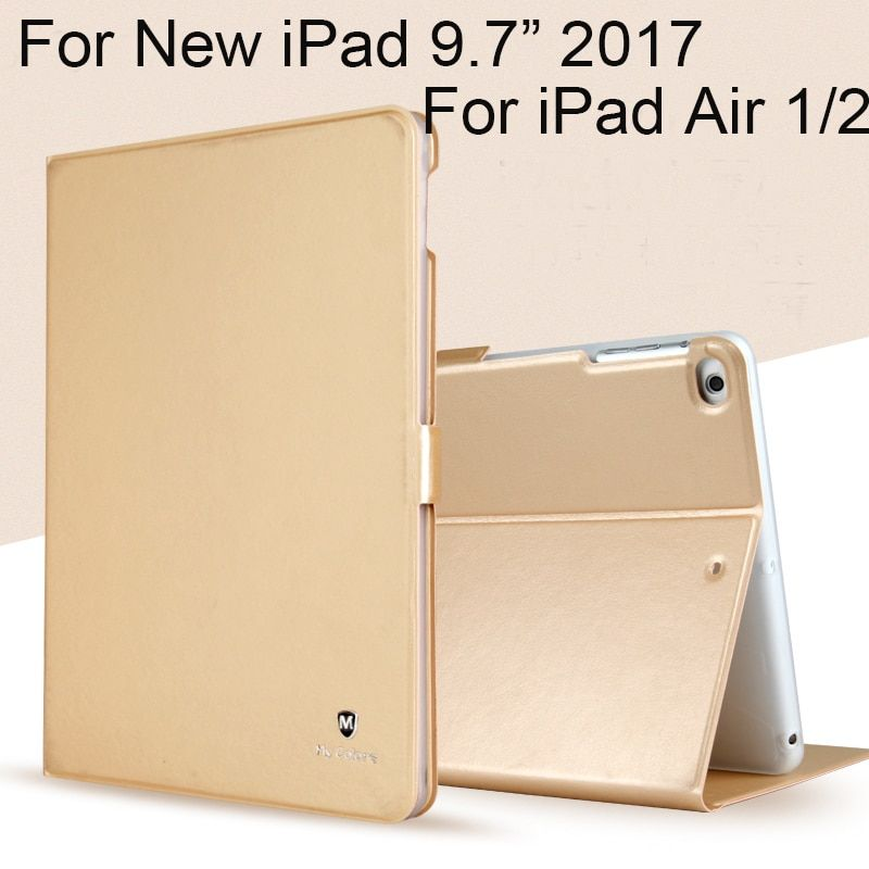 High Quality Case For iPad 9.7 2017 / 2018 Cover TPU+PU Leather Protective Skin For iPad Pro 9.7 Air 1 Air 2 Tablets Sleeves
