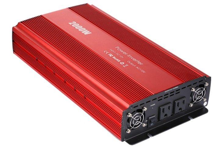 2000W High Power 12V To 220V Sine Wave Inverter Solar Inverter