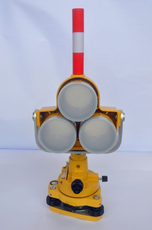 NEUE HAND FALL DREIFACH-PRISMA SET SYSTEM PASST Topcon/SOKKIA/Nikon TOTALSTATIONEN