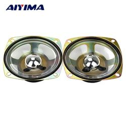 Aiyima 2pcs 3 inch square 8 ohm 5w 78 mm waterproof Speaker
