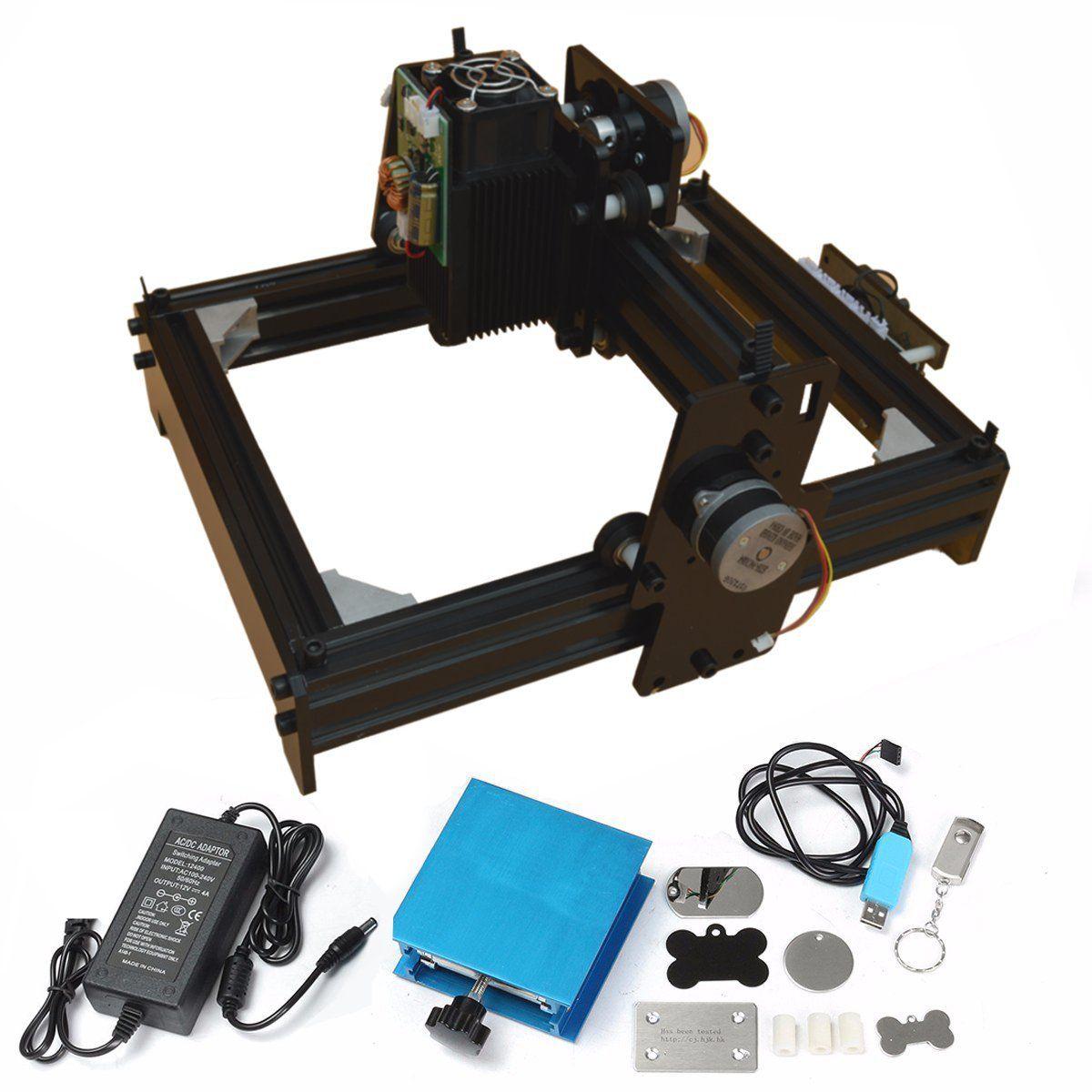 15 watt CNC Crouter CNC Laser cutter DIY Mini CNC Laser Gravur Maschine Holz Router Metall Kennzeichnung Gravur 2018 Beste erweiterte Spielzeug