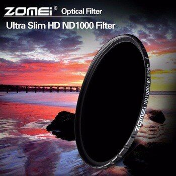 Zomei HD MC ND1000 10-Stop ND3.0 52/58/67/72/77/82mm Neutral Density ND Filter for Canon Nikon Sony Sigma Camera Lens