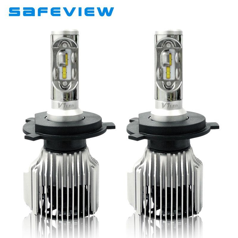 Safeview H7 led H4 Headlight Lamp MiNi Car driving H8 H9 H11 H1 D1S D2S/R D3S 9005 9006 HB3 HB4 880 881 auto lighting bulbs