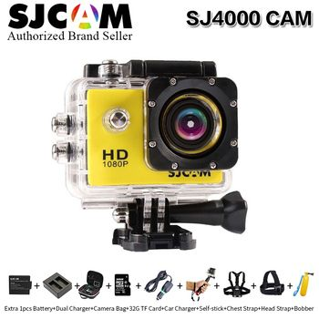 Original SJCAM SJ4000 Action Camera Diving 30M Waterproof Camera 1080P Full HD 170 Degree Sports Camera with more accessories