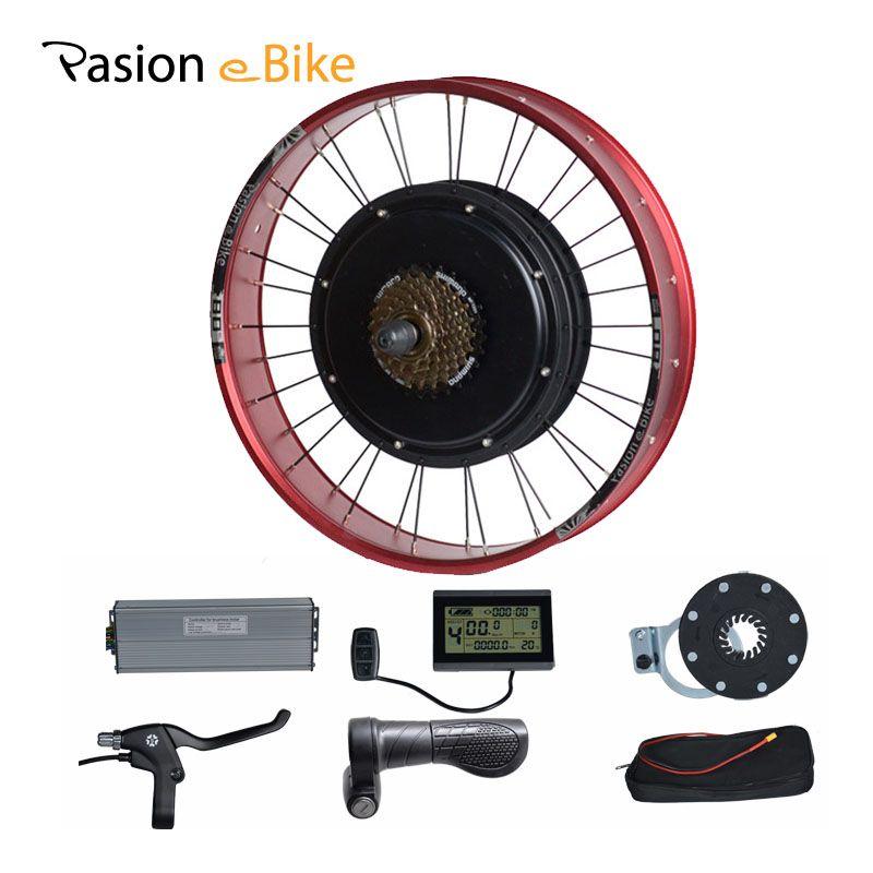 PASION E FAHRRAD 48 V 1500 Watt Elektro-fahrrad Umbausatz Fett Bikes 20