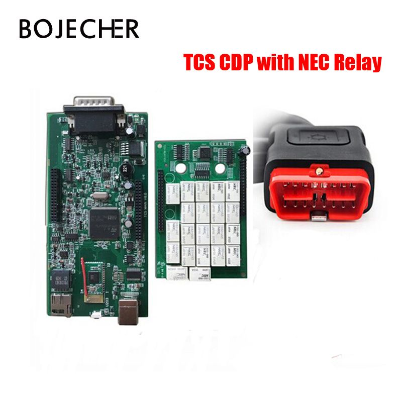 5Pcs/Lot 2015.R3/2016.R0 TCS CDP Pro Plus For Cars/Trucks/Generic Auto Diagnostic Tool CDP Pro With Bluetooth by DHL Free