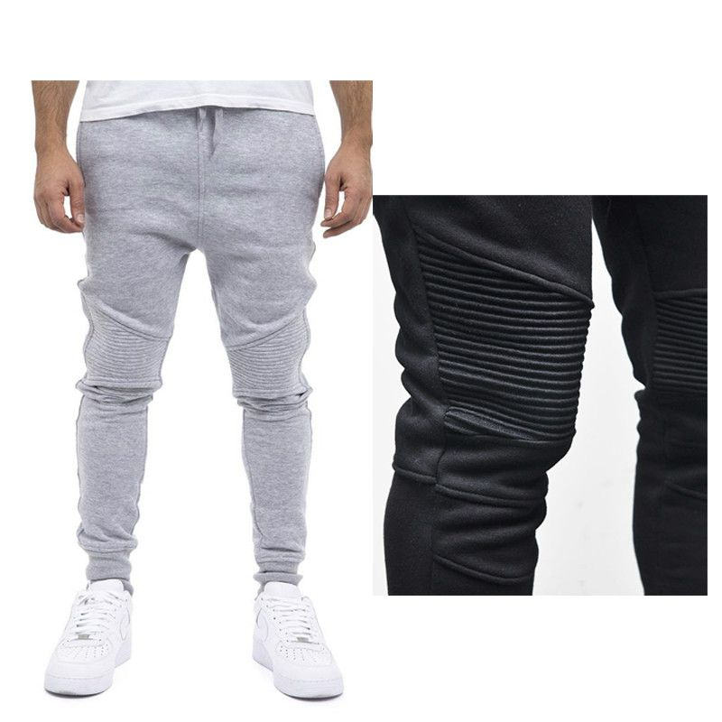Männer Casual Freizeit Stilvolle slim fit jogger hosen männer pantalons homme BAUMWOLLE jogginghose harem sweat hose männer sportbekleidung