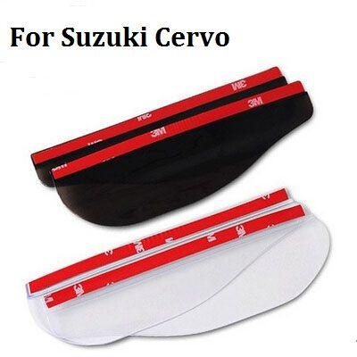 2pc Car styling for Suzuki Escudo Rain Shield PVC Rear Mirror New Rearview mirror rain eyebrow Shade car styling