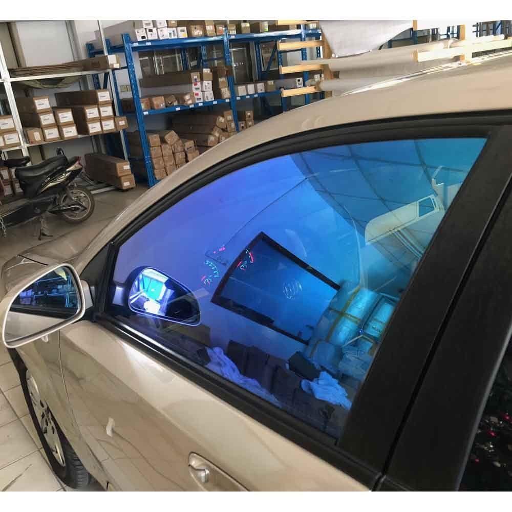 69%VLT Chameleon Nano Ceramic Film Car Side Rear Window Solar Tint 60